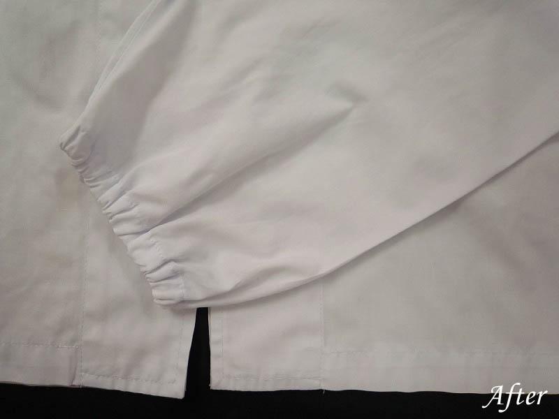 洗濯してインクが爆発した白衣の染み抜き