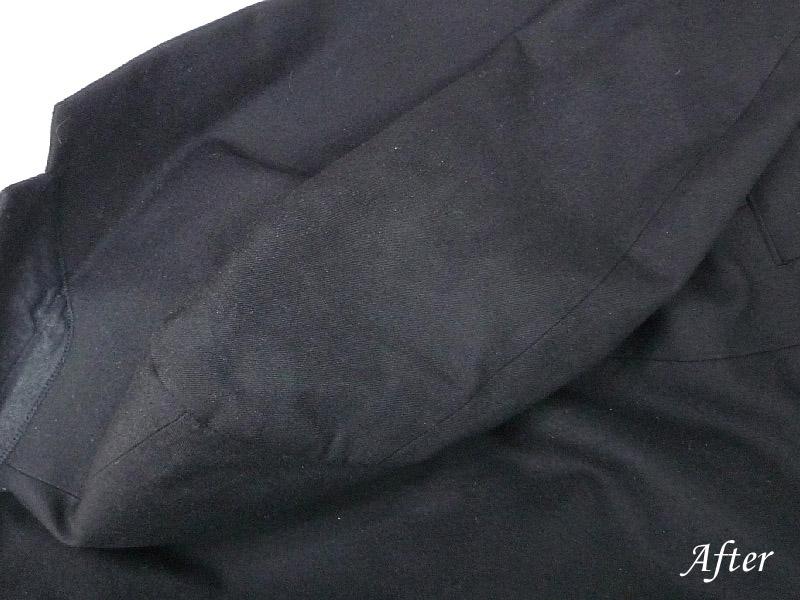 学生服にペンキの染み抜き