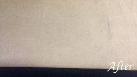 綿100%ズボン チノパン の油のシミ