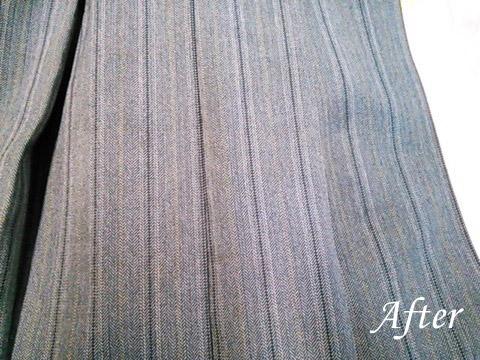 学生服の汚れ(ボールペン、ペンキの染み抜き)