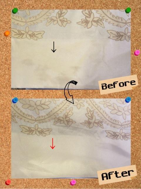 シルク(絹)のスカートに食べこぼしのシミ抜き