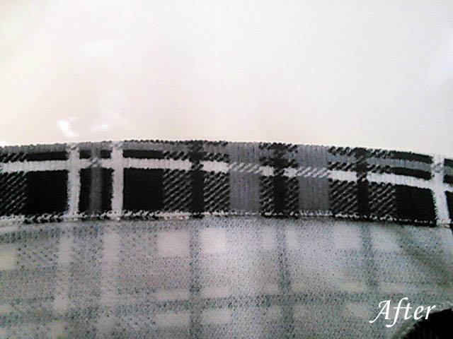 ズボンの裾汚れ(染み抜き)