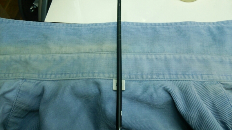シャツの衿 復元加工