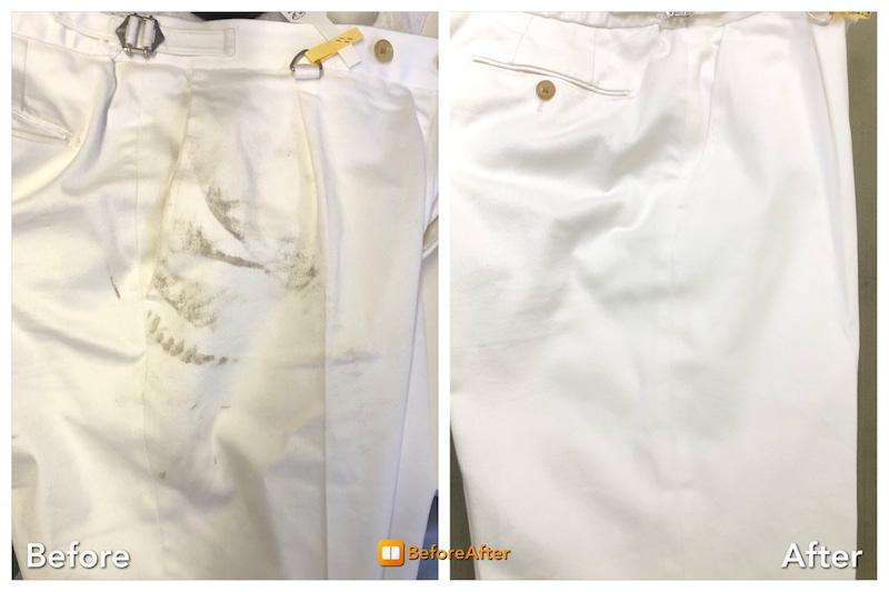 白のパンツ、出してみたらシミが…