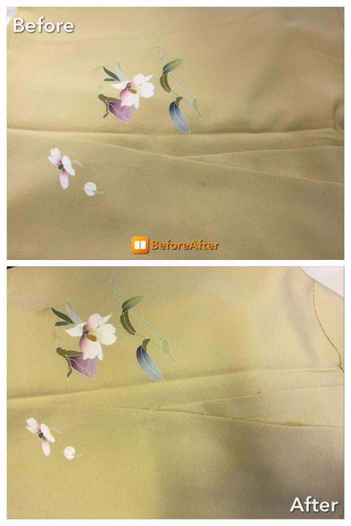 成人式の着物クリーニング